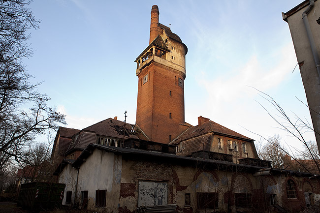 The tower building