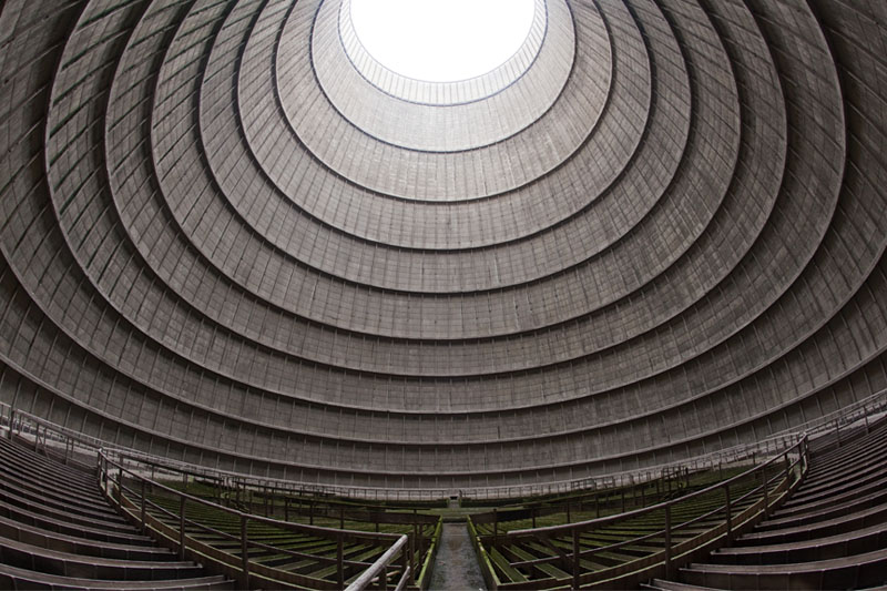 Cooling tower wide up