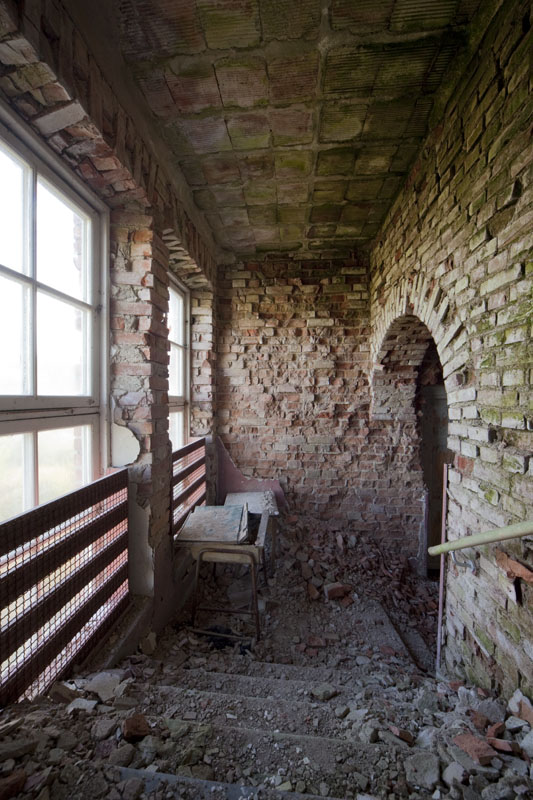 The old school hallway