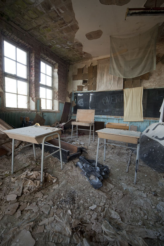 The old school class room