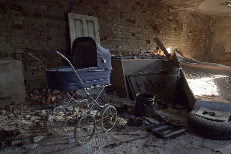 The old school basement