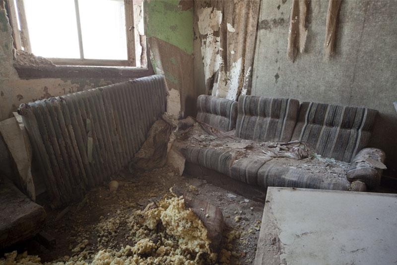 The old school sofa