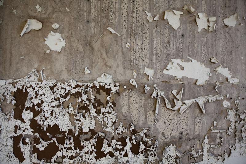 Fredriksberg paper mill paint peeling