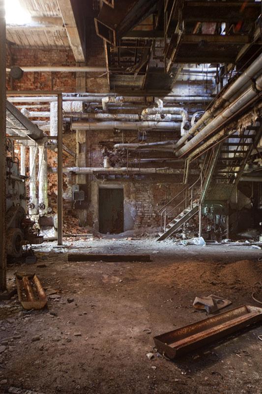 Fredriksberg paper mill rusty