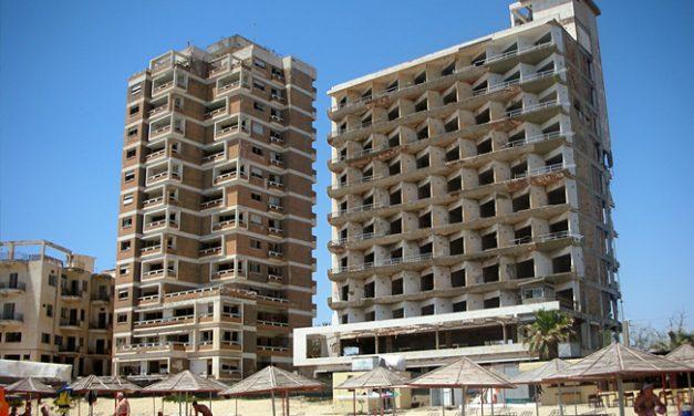 Spøkelsesbyen Verosha i Famagusta (CY)