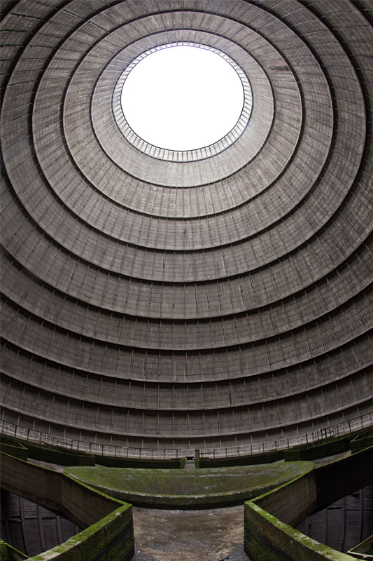 Cooling tower portrait