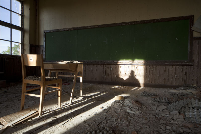 The old school shadow