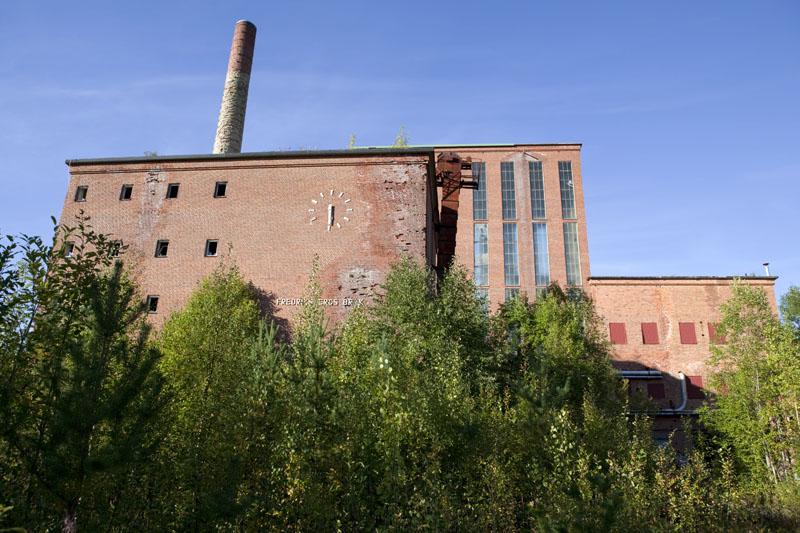 Fredriksberg paper mill exterior
