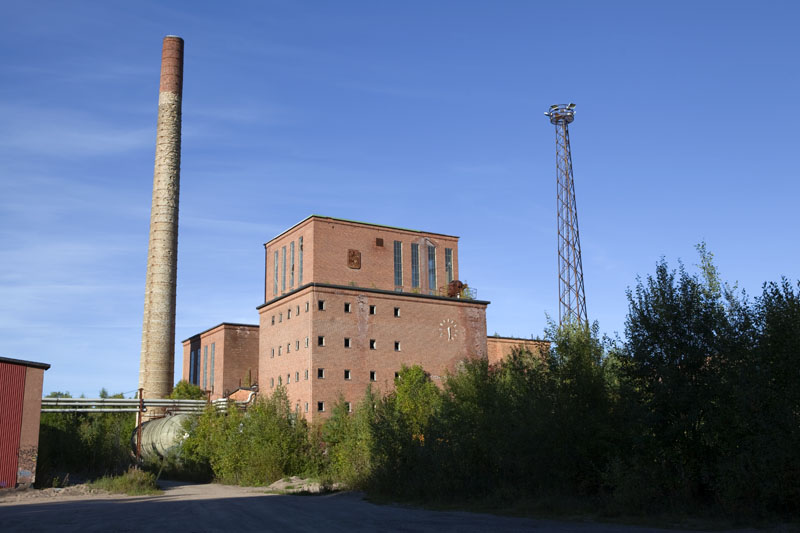Fredriksberg paper mill exterior 2