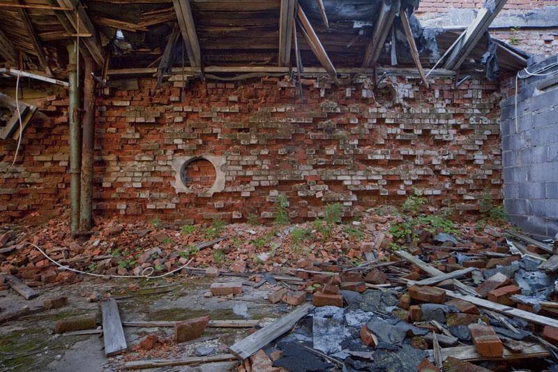 Fredriksberg paper mill bricks