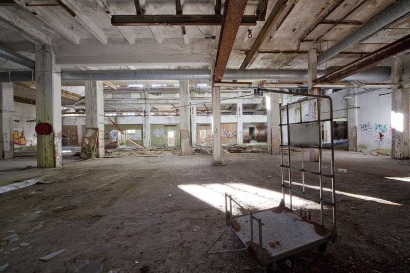 Fredriksberg paper mill trolley
