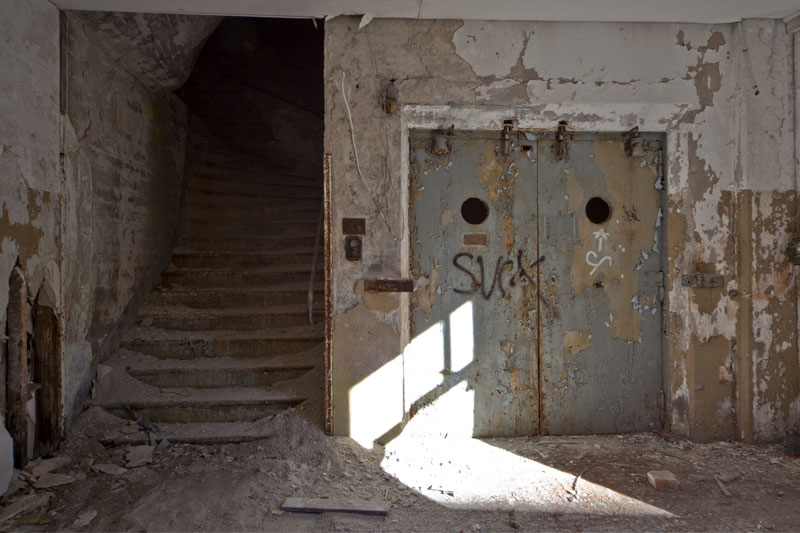 Fredriksberg paper mill door