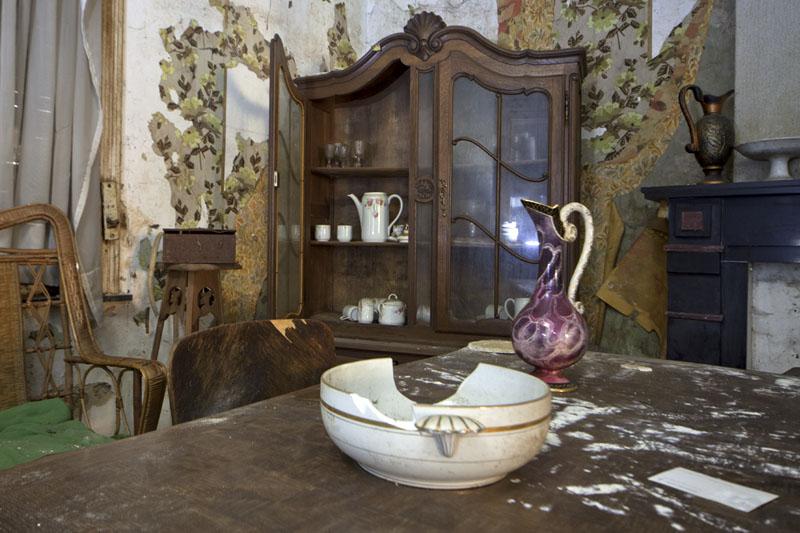 Maison N - Living room closet