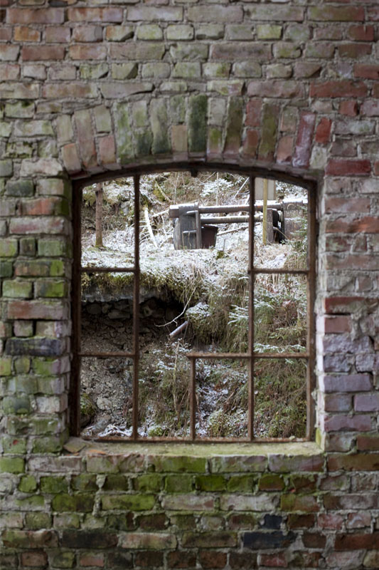 Nitedal Gunpowder Factory - window