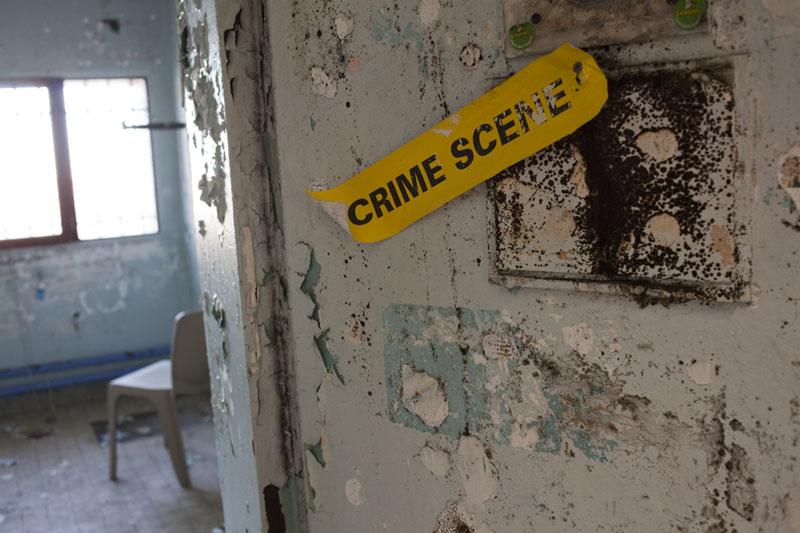 Prison H15 - Crime scene